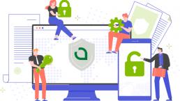 ilustración representativa del foro nacional de ciberseguridad
